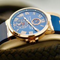 Ulysse Nardin Marine Chronometer 43mm Rose gold 43mm Blue Roman numerals United States of America, Florida, Fort Lauderdale