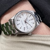 Rolex Oyster Perpetual Date Steel 34mm White Roman numerals United States of America, Florida, Pembroke Pines