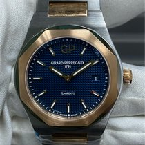 Girard Perregaux Laureato Gold/Steel 34mm Blue