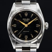 Rolex Oyster Precision Steel Black United States of America, Massachusetts, Boston