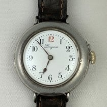 Longines Silver Manual winding White 29mm pre-owned