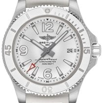 Breitling Superocean Steel 36mm White Arabic numerals