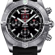 Breitling Blackbird new Automatic Chronograph Watch with original box A4436010-BB71-153S