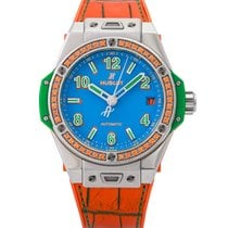 Hublot Big Bang Pop Art Steel 39mm Blue Arabic numerals