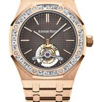 Audemars Piguet Royal Oak Tourbillon nuevo 2020 Automático Reloj con estuche y documentos originales 26516OR.ZZ.1220OR.01
