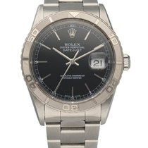 Rolex Datejust Turn-O-Graph Steel 36mm Black United States of America, New York, New York