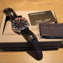 Maurice Lacroix Pontos S Supercharged Steel 48mm Black No numerals