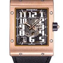 Richard Mille RM 016 RM 016 Velmi dobré Růžové zlato 38mm Automatika