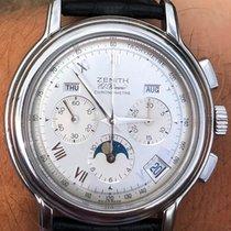 Zenith El Primero Chronomaster Acier 40mm Argent Romains France, Le Mans