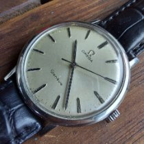 Omega Genève Steel Silver No numerals