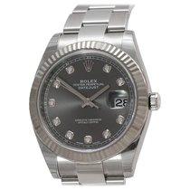 Rolex 116334 Сталь Datejust II 41mm подержанные