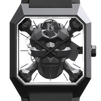 Bell & Ross BR 01 BR01-CSK-CE/SRB New Ceramic 45mm Manual winding