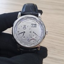 A. Lange & Söhne Platinum Manual winding Silver Roman numerals 41.9mm pre-owned Lange 1