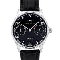 IWC Portuguese Automatic Acero 42.3mm Negro