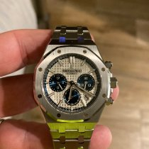 Audemars Piguet Royal Oak Chronograph Steel 38mm Silver No numerals United States of America, Alabama, Birmingham