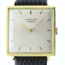 Sarcar Yellow gold 27mm Manual winding 8361E pre-owned