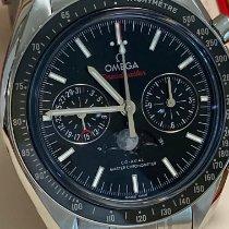 Omega Speedmaster Professional Moonwatch Moonphase Acier Noir Sans chiffres
