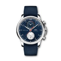 IWC Portuguese Yacht Club Chronograph Steel Blue United States of America, Iowa, Des Moines