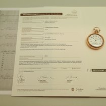 A. Lange & Söhne Red gold Manual winding White Arabic numerals 53mm pre-owned