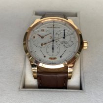 Jaeger-LeCoultre Duomètre Rose gold 42mm Silver Arabic numerals United States of America, New York, New York