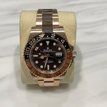 Rolex GMT-Master II Rose gold 40mm Black No numerals United Kingdom, ashford