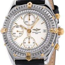 Breitling Chronomat Steel 40mm White No numerals United States of America, New York, NEW YORK CITY
