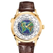Patek Philippe World Time 5231J-001 Very good Yellow gold 38.5mm Automatic