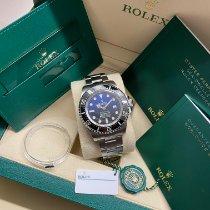 Rolex Sea-Dweller Deepsea Acier 44mm Bleu Sans chiffres France, Paris