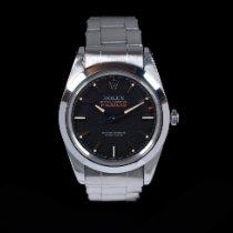 Rolex Milgauss Staal Zwart