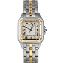 Cartier Panthère Gold/Steel 27mm White Roman numerals United States of America, Maryland, Baltimore, MD