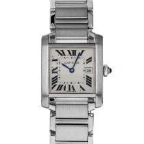 Cartier Tank Française W51011Q3 / 2465 Very good Steel 25mm Quartz United States of America, Maryland, Baltimore, MD