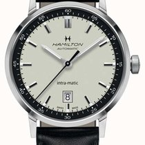 Hamilton Intra-Matic new 2020 Automatic Watch with original box and original papers H38425720