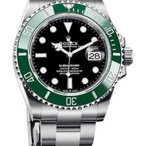 Rolex Submariner Date Steel 41mm Black No numerals Malaysia