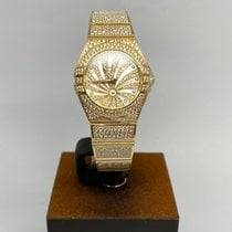 Omega Red gold Mother of pearl new Constellation Quartz