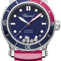 Chopard 278587-3002 Happy Ocean Ocel 2021 Happy Diamonds 40mm nové