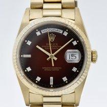 Rolex 18238 Or jaune 1997 Day-Date 36 36mm