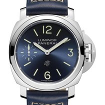 Panerai Special Editions Steel 44mm Blue United States of America, New York, New York