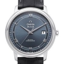 Omega De Ville Prestige neu 2021 Automatik Uhr mit Original-Box und Original-Papieren 424.13.40.20.03.002
