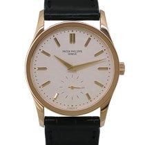 Patek Philippe Yellow gold Manual winding No numerals 31mm pre-owned Calatrava