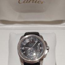 Cartier Calibre de Cartier Acier 42mm Noir Romains France, Monticello