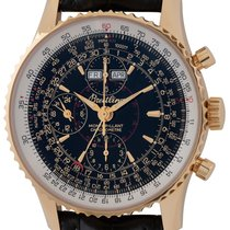 Breitling Montbrillant Datora Yellow gold 43mm Black United States of America, Texas, Austin