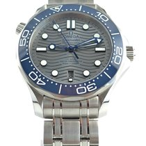 Omega Seamaster Diver 300 M Steel 42mm Grey No numerals