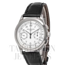 Patek Philippe Chronograph White gold 39mm White Arabic numerals United States of America, New York, Hartsdale