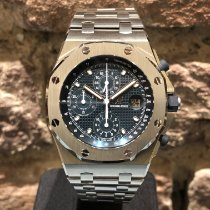Audemars Piguet Royal Oak Offshore Chronograph Aço 42mm Azul Sem números