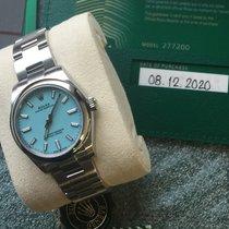 Rolex Oyster Perpetual 31 Stahl 31mm Silber Keine Ziffern