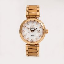 Omega De Ville Ladymatic Red gold 34mm Mother of pearl
