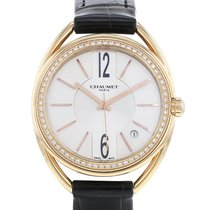 Chaumet Liens Rose gold 35mm Champagne Arabic numerals