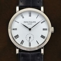 Patek Philippe White gold Manual winding 31mm pre-owned Calatrava