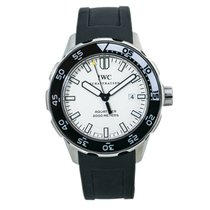 IWC Steel Automatic White 45mm pre-owned Aquatimer Automatic 2000