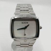 Nixon Acero Cuarzo Blanco Sin cifras 35mm nuevo